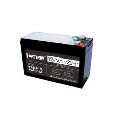 Аккумулятор 12В / 7Aч, ABP 7-12L