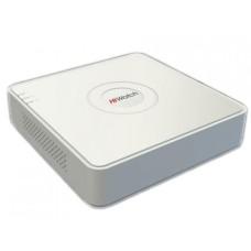 Гибридный видеорегистратор 4-х канальный HiWatch DS-H204QA